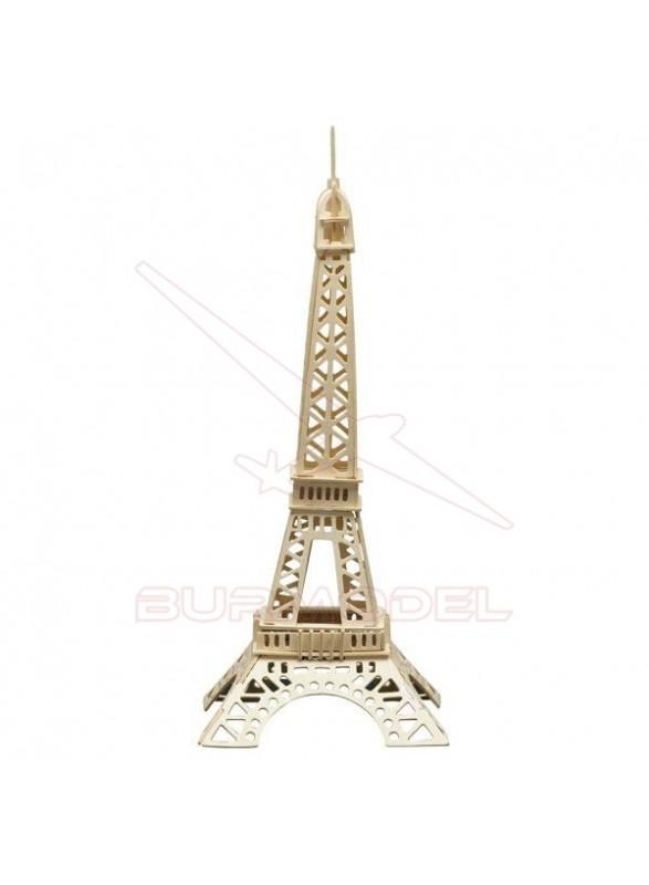 Torre Eiffel para montar en madera