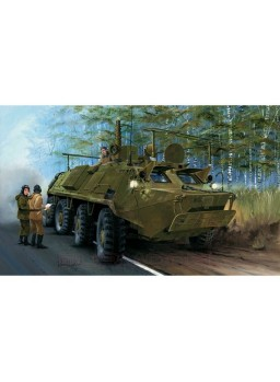 Maqueta vehículo Russian BTR-60PU. Escala 1:35