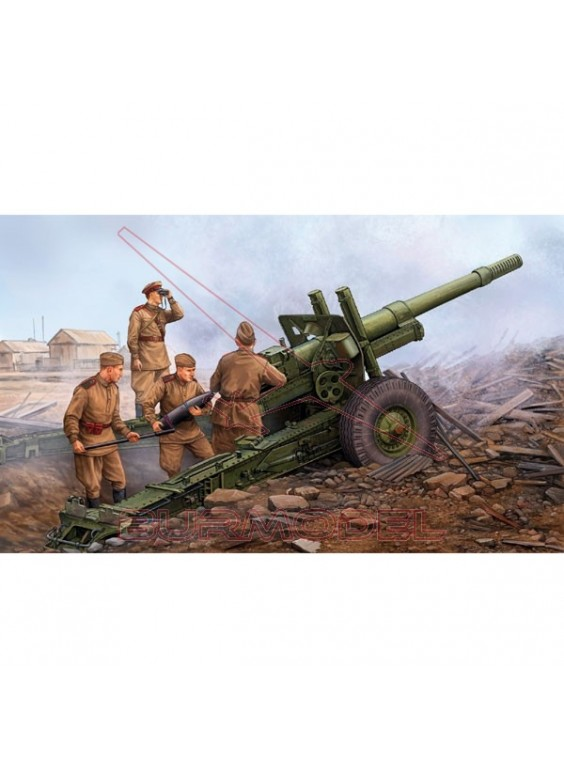 Maqueta cañón Soviet ML-20 152mm Howitzer 1:35