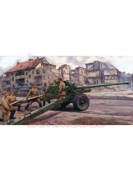 Maqueta Russian 100mm anti-tank gun m1944 (bs-3)