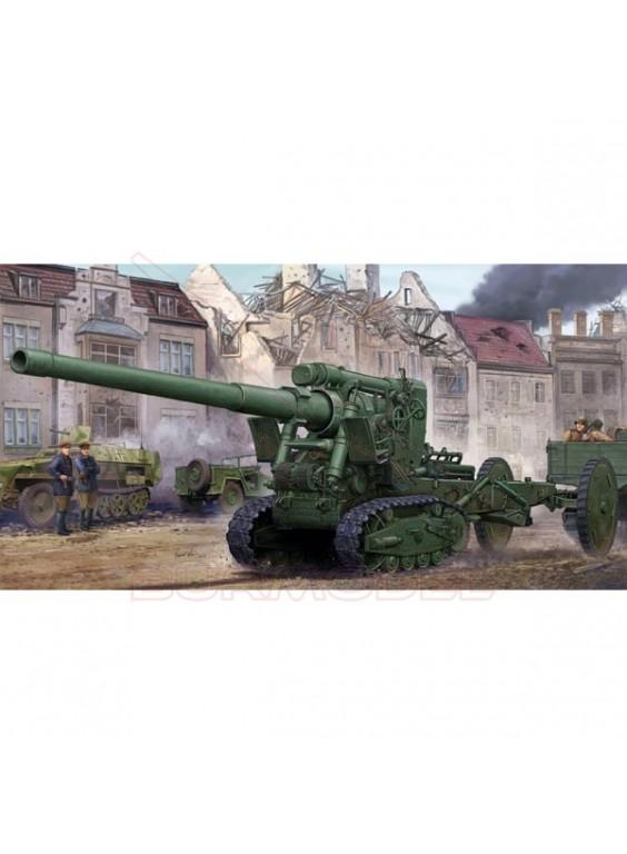 Maqueta cañón Soviet Br-2 152mm Gun M1935. 1:35