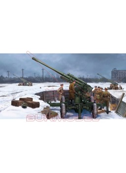 Maqueta Soviet 52-K 85mm Air Defense gun M1939