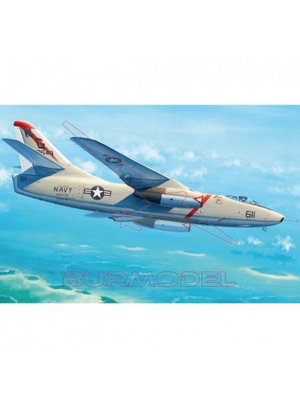 Maqueta avión KA-3B Skywarrior 1/35