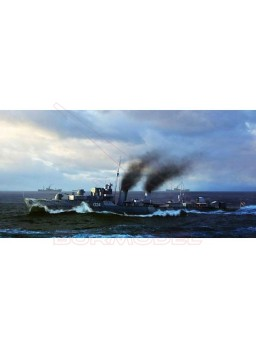Maqueta barco HMCS Huron Destroyer 1944. 1/350