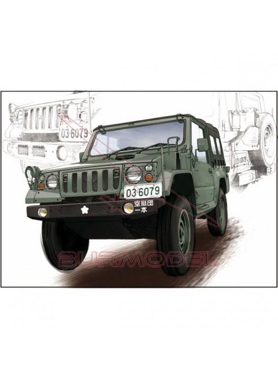 Maqueta vehículo JGSDF type 73 Light Truck 1:35