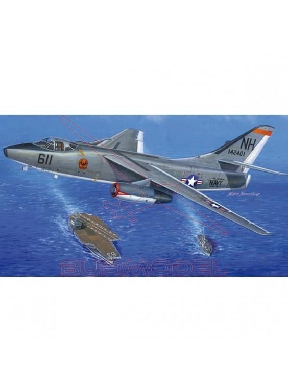 Maqueta avión Skywarrior A-30-2. Escala 1/48