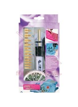 Marcador de remaches con accesorios