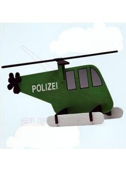 Puzzle niños para montar un helicóptero