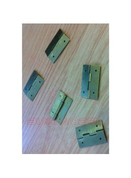 Bisagras para casitas de muñecas.25x15 mm (5 unds)