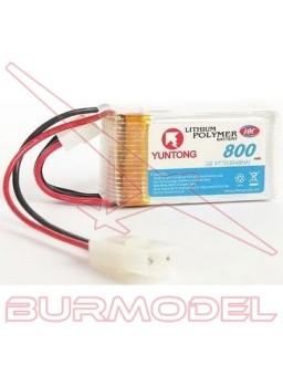 Batería 11,1 v 800 Mah 10 C