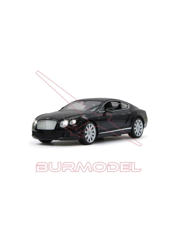 Coche rc Bentley Continental GT Speed 1/14 negro