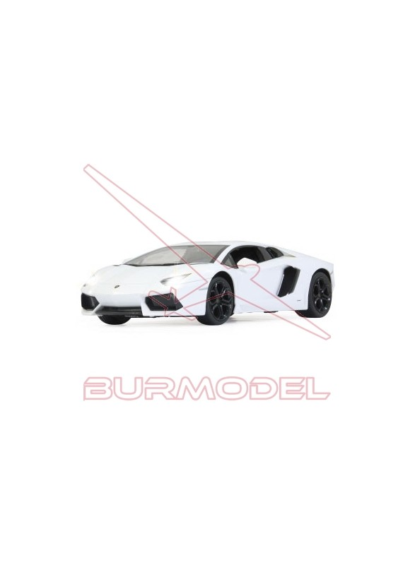 Lamborghini Aventador radiocontrol. Blanco 1/14