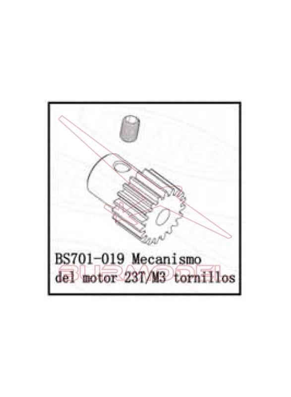 Engranaje motor para 85803 BSD eléctrico anterior