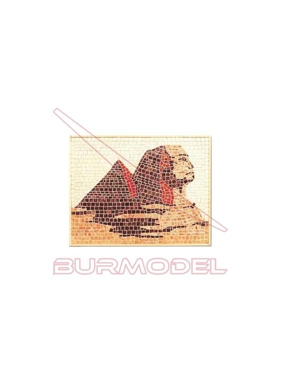 Mosaico Pirámide 270x340 mm.