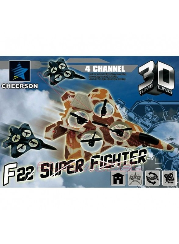 Avión rc Predator 4CH 3D