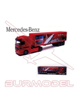 Maqueta montada camión Mercedes Actros 1/43