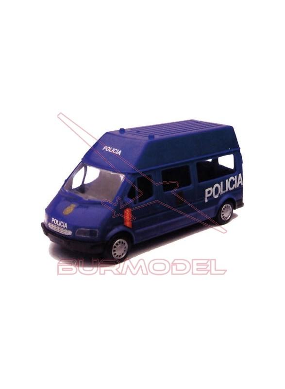 Furgón Policia 091. Escala 1/32