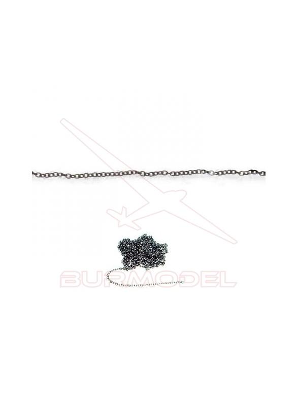 Cadena latón pavonado 0,5m (0,5)