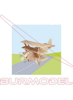 Avión solar para montar