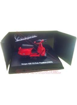 Réplica Vespa 125 T5 Pole Position (1985) roja