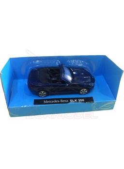 Réplica Mercedes-Benz SLK 350 azul metalizado.1/43