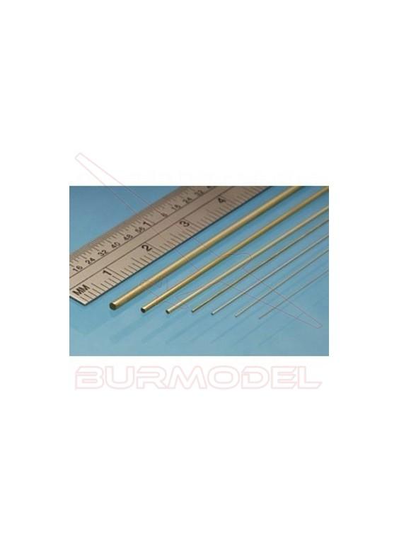 Redondo macizo de latón 0.80 mm (9 unid.)