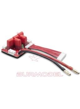 Cable multicargador para baterías lipo
