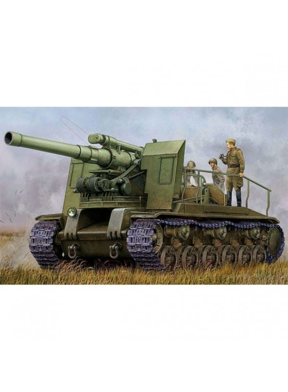 Maqueta tanque Soviet S-51 Self-Propelled gun 1/35