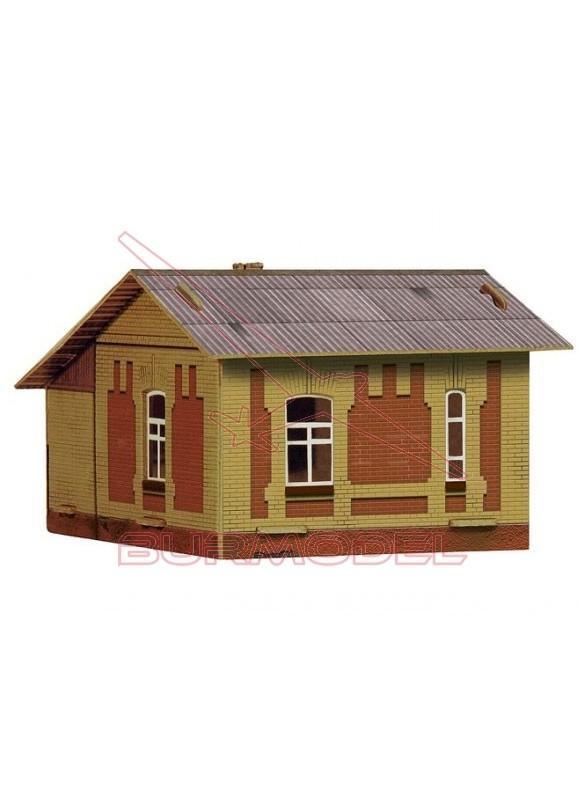Casa Vigia. Construcción papel. Escala HO 1/87