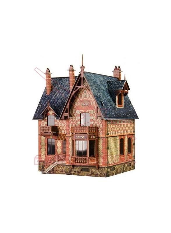 Maqueta de papel Villa Chateau