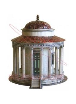 Templo de Vesta (Roma) para montar en papel