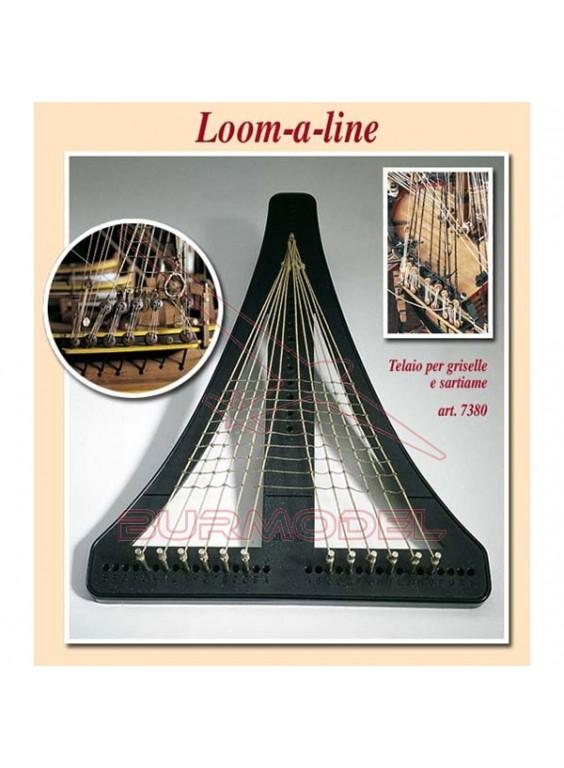 Telar triangular para barcos de madera. Amati