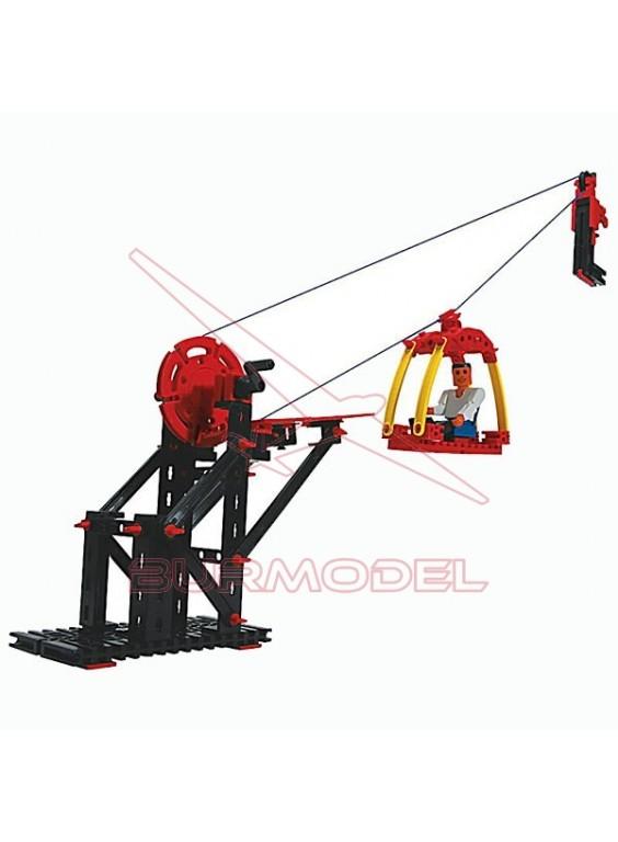 Construcción funicular. 3 modelos