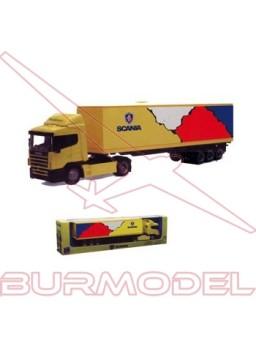 Réplica camión Scania R124/400. Escala 1/43