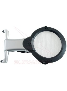 Lupa especial con 2 Leds 4""