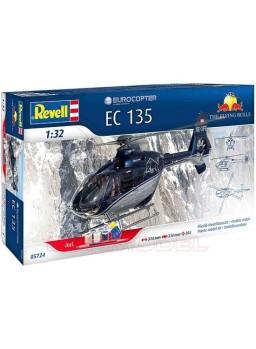 "Maqueta helicóptero EC135 ""FLYING BULLS"""