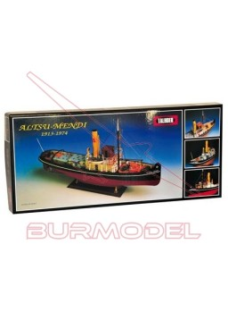 Barco Altsu Mendi. Remolcador