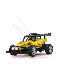 Dragster 16 40MHz amarillo. Escala 1/16