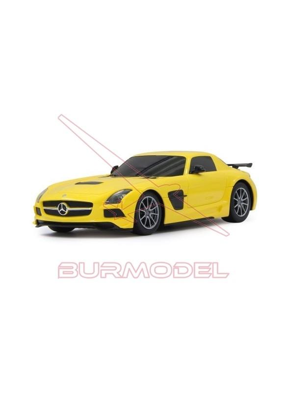 Mercedes SLS AMG BS rc 1:18 27MHz amarillo