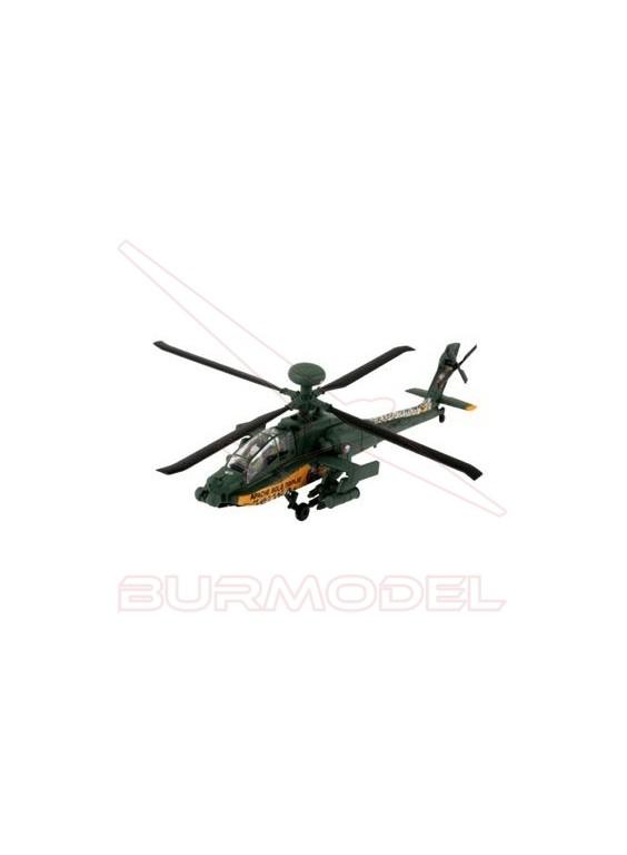 Helicóptero AH-64 Apache Easy Kit 1/100