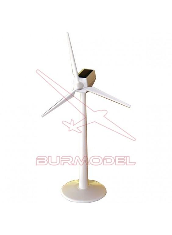 Molino de viento solar. Kit de plástico ABS.
