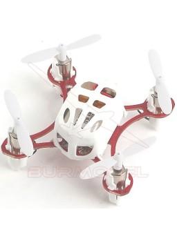 Dron mini color blanco CX-11 4 canales