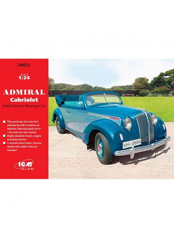 Maqueta Opel Admiral Cabriolet 1/24
