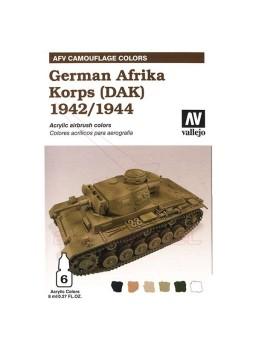 Vallejo África Corps Alemán