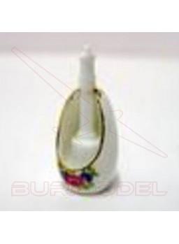Escobillero de porcelana