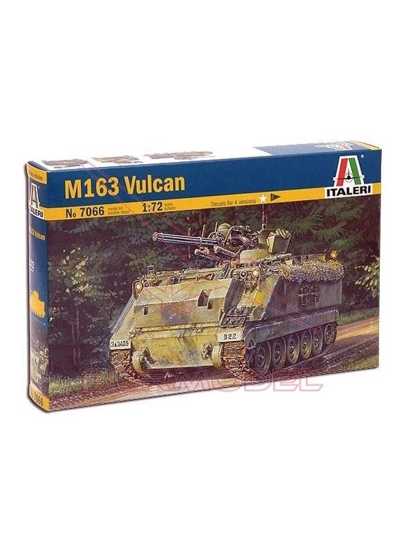 Tanque USA M163 Vulcan. Escala 1:72