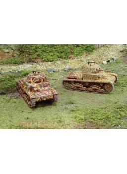 Carro Armato M13/40. 2 modelos 1:72