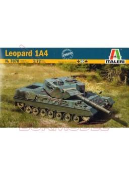 Maqueta para montar Leopard 1A4. Escala 1:72