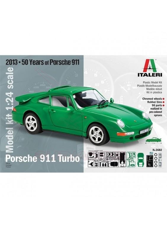 Réplica para montar Porsche 911 Turbo