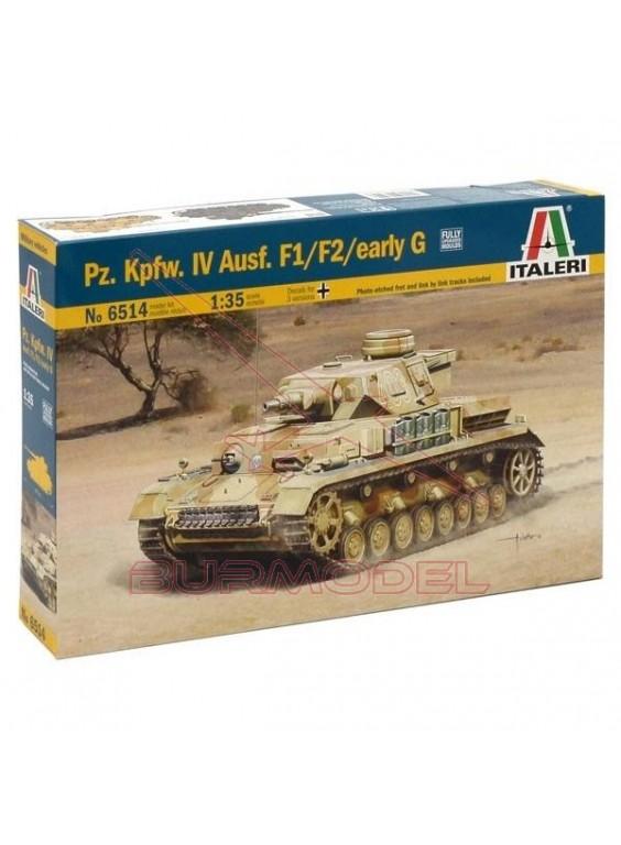 Maqueta Sd. Kfz. 161 Pz. Kpfw. IV Ausf. F1F2